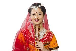 Gujarati Dancers Perform Navratri Festival