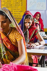 Indian Rural Womens Worker Tailor