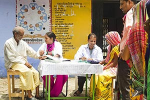 Rural Village Health Check-up Camp�
