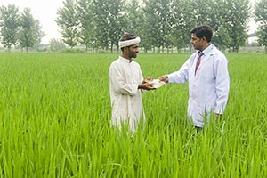Indian Doctor Farmer Farm