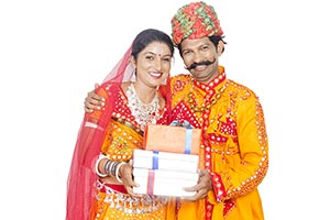 Indian Gujrati Couple Gift Boxes