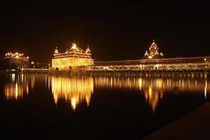 Golden Temple Amritsar God Lights