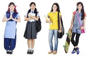 Teenage Girl Multiple personality