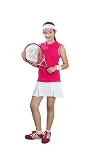 Teenage Girl Tennis Player