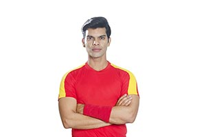 Arms crossed Soccer Portrait Professional Soccer P