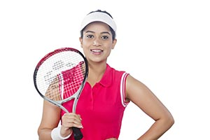Indian Female Tennis Player