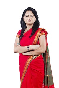 Indian Businesswoman Arms Crossed