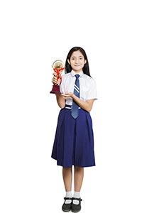 Teenage Girl Student Trophy