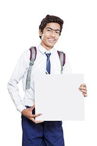 School Boy Message Board