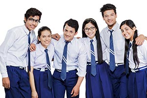 Group Teenagers School Students