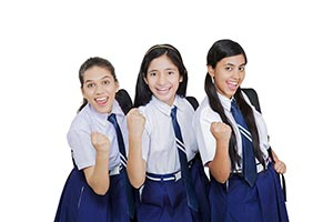Girls School Students Victory
