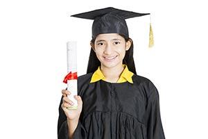 Graduation Student Degree Showing