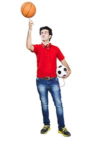 1 Person Only ; 20-25 Years ; Balance ; Ball ; Bas