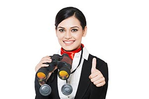 Airhostess Ladies Binoculars Thumbsup