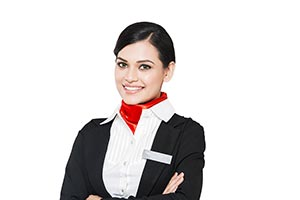 Indian Air hostess Woman