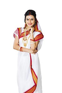 Bengali Woman Traditional Dress