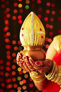 Indian Hindu Wedding Rituals Karva Chauth