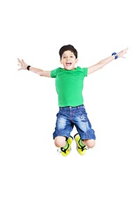 1 Person Only ; Arms Outstretched ; Boys ; Carefre