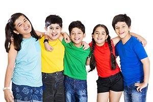 3-5 People ; Arm Around ; Bonding ; Boys ; Carefre