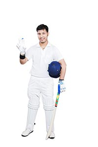 1 Person Only ; 20-25 Years ; Bat ; Batsman ; Colo