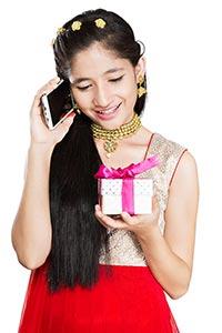 Girl Diwali Gift Gratitude