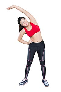 Exercise Woman Stretching Work out