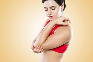 Indian Woman Elbow Pain