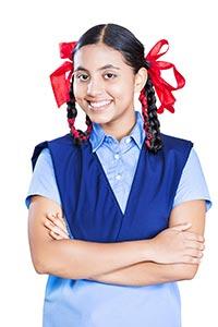 Indian Rural Girl School