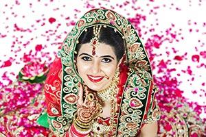Indian Woman Wedding Happy