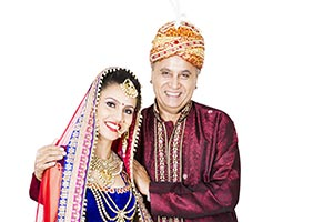 Indian Bride Wedding Father