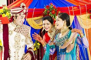 JootaChori Ritual Indian Wedding