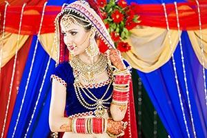 Indian Bride Wedding Ceremony