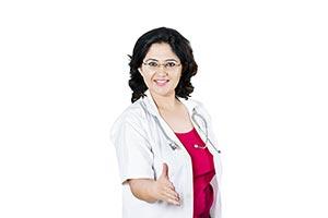 Indian Doctor Offering Handshake