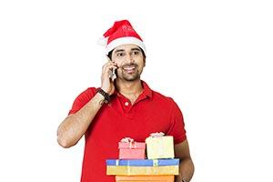 Man Christmas Gift Talking