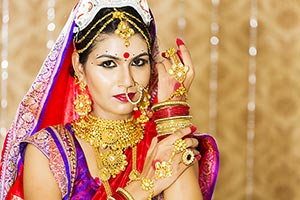 Bengali Bride Wedding Getting Ready