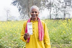 1 Person Only ; 50-60 Years ; Aadhaar Card ; Adult