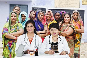 Doctors Dispensary Womens Treatment Rural Village