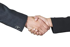 Business Partner Handshake success Dealing Greetin