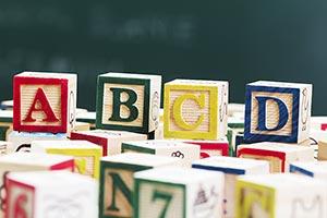 Abundance ; Alphabet ; Arranging ; Block ; Buildin
