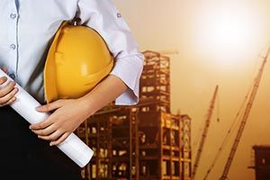 Construction Site Midsection Real Estate Engineer