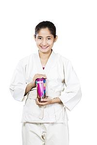 Indianr Karate girl Student Judo Health Chyawanpra