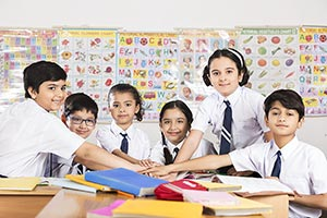 Book ; Boys ; Classmate ; Classroom ; Color Image