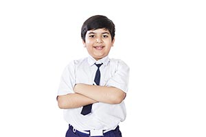 1 Person Only ; Arms crossed ; Boys ; Color Image