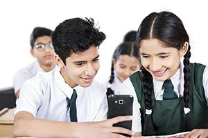 School student Friend Class Reading Messaging Cell