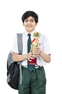 1 Person Only ; Achievement ; Award ; Bag ; Boys ;