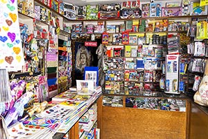 Stationary Shop Market Nobody Small Business