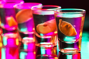 New Year Party Alcohol Drinks Serving Recipe