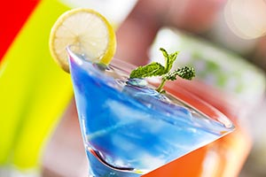 Bar Mocktail Party Drinks Summer Season Celebratio