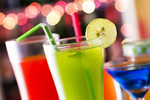 Bar Mocktail Party Serving Juices Glass Recipe