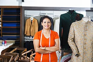 Boutique Tailor Woman Fashion Designer Market Shop